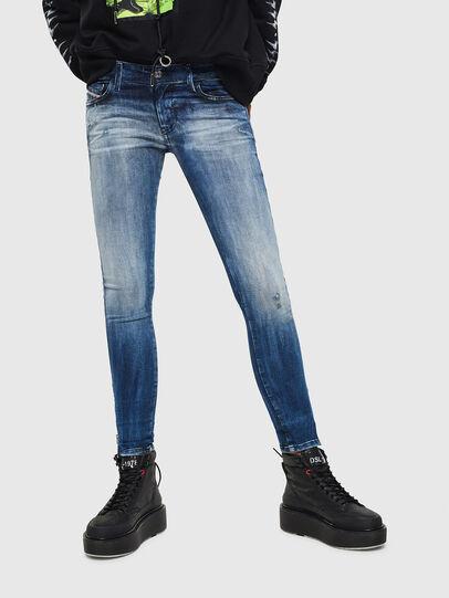 Diesel - Slandy Low 0095C, Blu medio - Jeans - Image 1