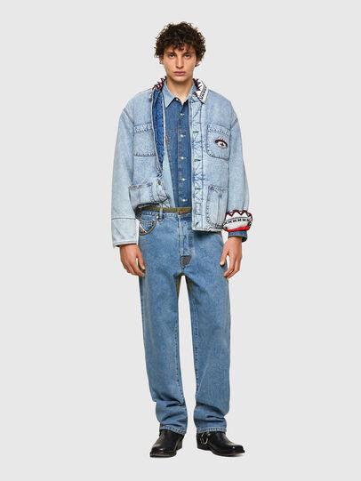 Diesel - DxD-P2 0CBBI, Blu Chiaro - Jeans - Image 5