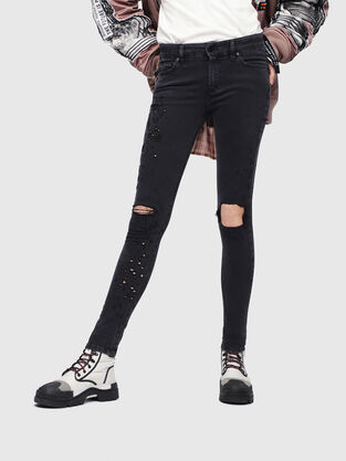 Slandy 085AW, Nero/Grigio scuro - Jeans