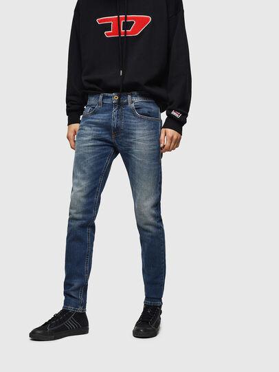Diesel - Thommer 089AR, Blu Scuro - Jeans - Image 1