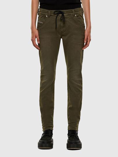 Diesel - Krailey JoggJeans® 0670M, Verde Militare - Jeans - Image 1