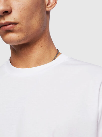 Diesel - T-GLASSY, Bianco - T-Shirts - Image 3
