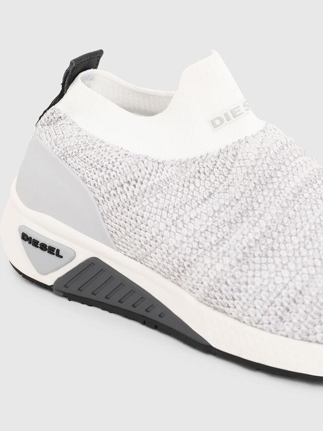 Diesel - S-KB ATHL SOCK W, Grigio Chiaro - Sneakers - Image 4