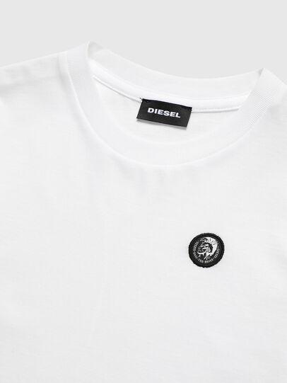 Diesel - TFREDDY ML, Bianco - T-shirts e Tops - Image 3