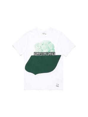 D-SHIELD-GREEN, Bianco - T-Shirts
