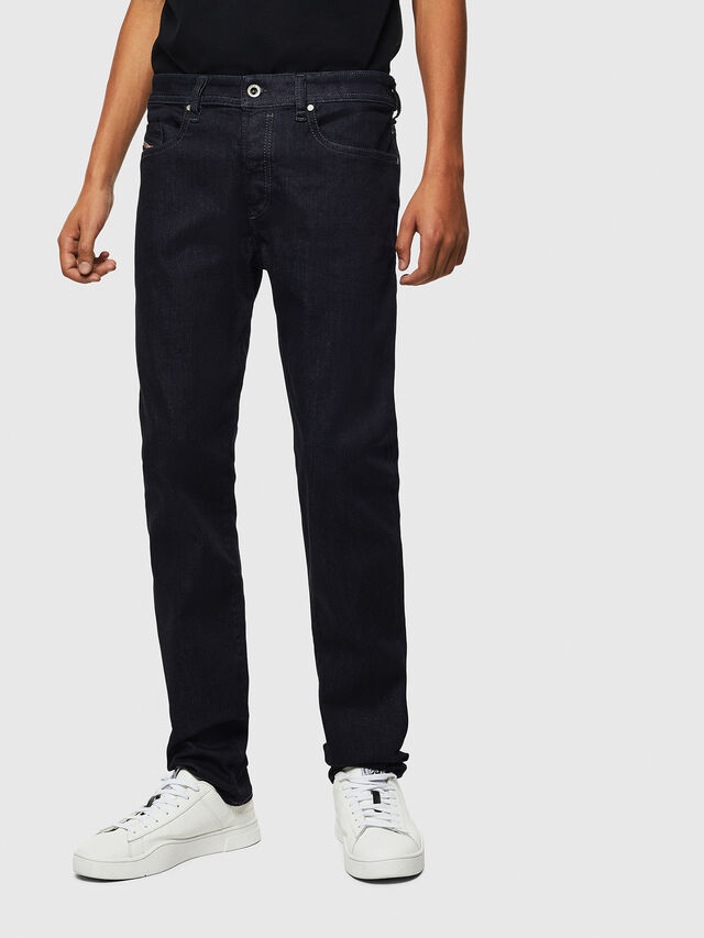 Diesel Buster 0607A, Blu Scuro - Jeans - Image 1