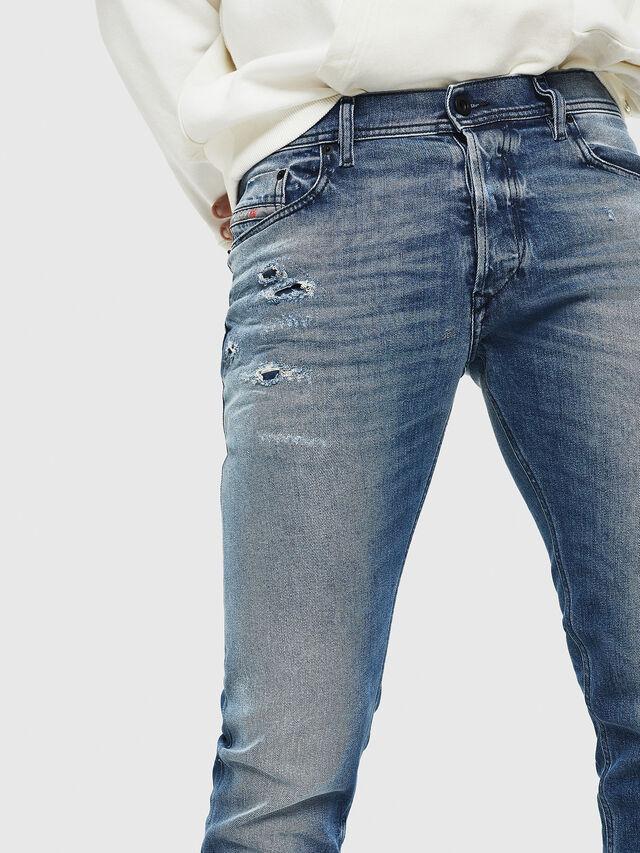 Diesel - Tepphar 0090L, Blu medio - Jeans - Image 3