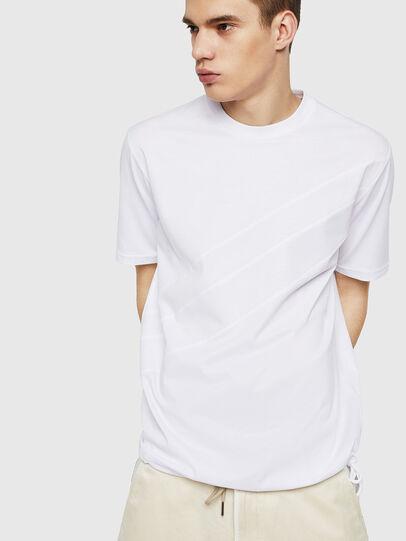 Diesel - T-ALEKSEY, Bianco - T-Shirts - Image 4