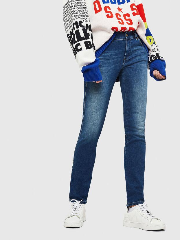 Sandy 086AL, Blu medio - Jeans