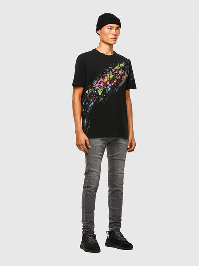 Diesel - T-JUST-A40, Nero - T-Shirts - Image 6