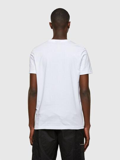 Diesel - T-DIEGOS-SMALLOGO, Bianco - T-Shirts - Image 2