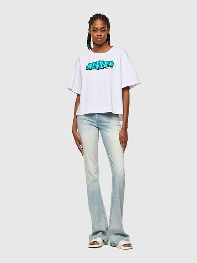 Diesel - T-BOWLESS-A1, Bianco - T-Shirts - Image 4