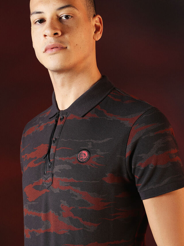 DVL-POLO-SPECIAL COLLECTION, Rosso/Nero