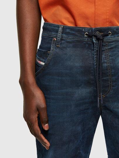 Diesel - D-KROOSHORT-Y JOGGJEANS, Blu Scuro - Shorts - Image 3