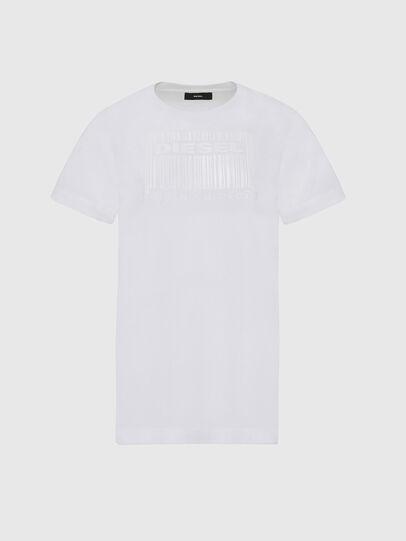 Diesel - T-DARIA-E2, Bianco - T-Shirts - Image 1