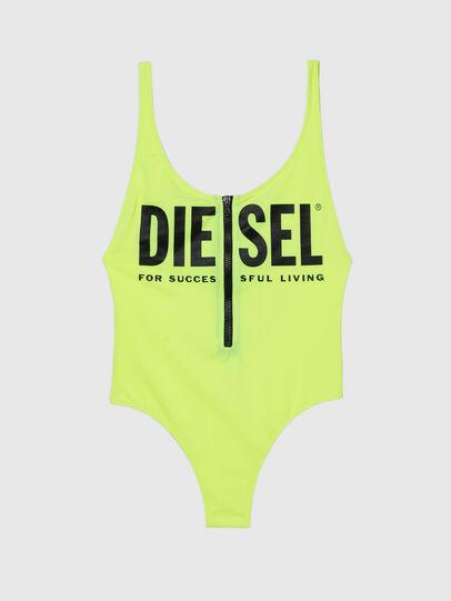 Diesel - BFSW-LIAZZ, Verde Fluo - Costumi interi - Image 4