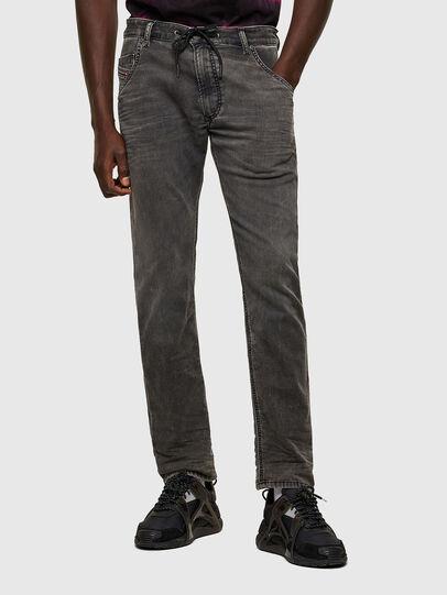 Diesel - Krooley JoggJeans® 069SY, Nero/Grigio scuro - Jeans - Image 1