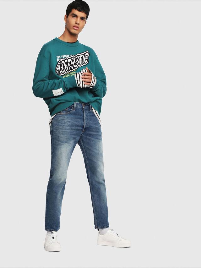 Diesel - D-Aygle 0076Y, Blu medio - Jeans - Image 5
