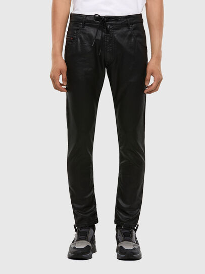 Diesel - Krooley JoggJeans 0849R, Nero/Grigio scuro - Jeans - Image 1