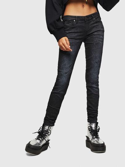 Diesel - Gracey JoggJeans 069GP, Nero/Grigio scuro - Jeans - Image 1