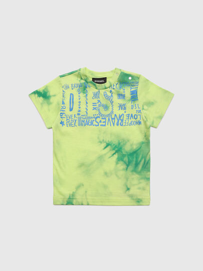 Diesel - TIMMYB, Verde - T-shirts e Tops - Image 1