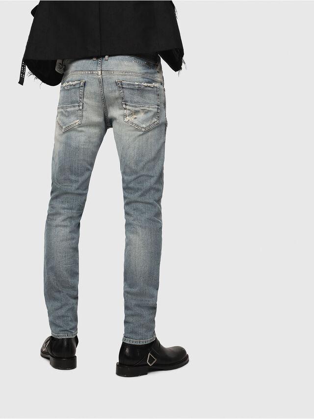 Diesel - Thommer 081AU, Blu medio - Jeans - Image 2