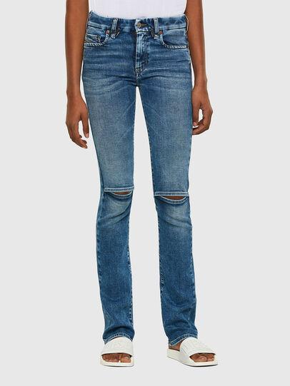 Diesel - Slandy-B 009PT, Blu Chiaro - Jeans - Image 1