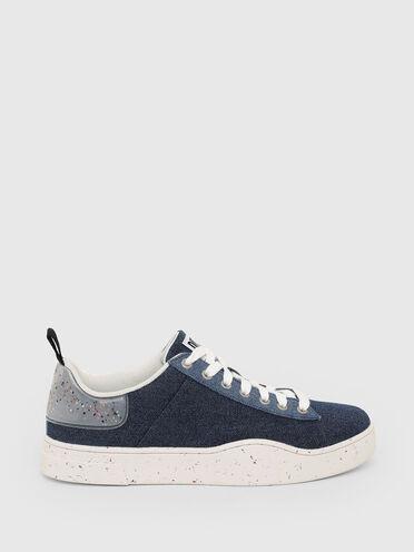 Sneaker Green Label in denim