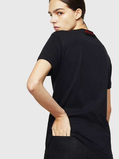 Diesel - LCP-T-DIEGO-ELPROFES, Nero - T-Shirts - Image 4