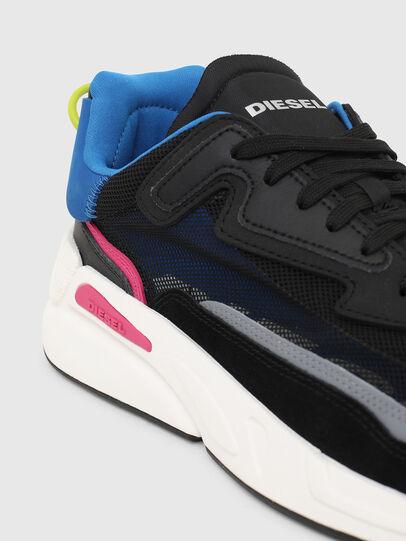 Diesel - S-SERENDIPITY SM, Nero/Blu - Sneakers - Image 4