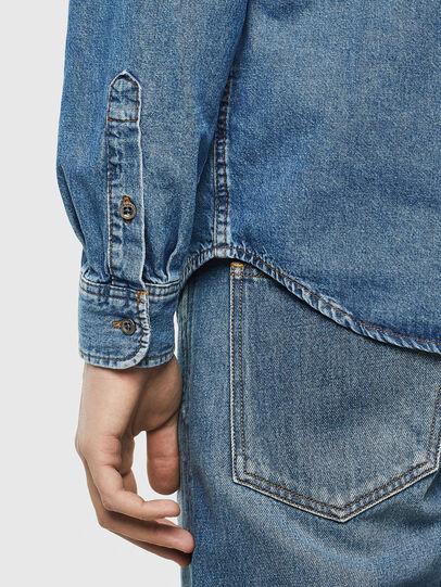Diesel - D-BER-P, Blu Jeans - Camicie in Denim - Image 4