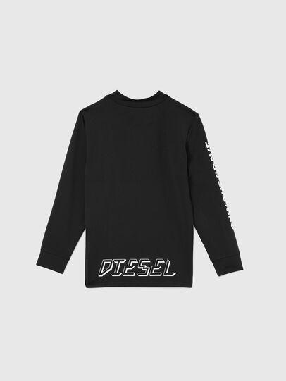 Diesel - TAPRESBR-SKI, Nero - T-shirts e Tops - Image 2