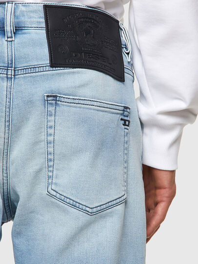 Diesel - D-Strukt JoggJeans® Z69VL, Blu Chiaro - Jeans - Image 3