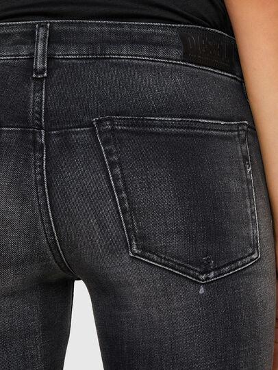 Diesel - D-Jevel 009JN, Nero/Grigio scuro - Jeans - Image 6