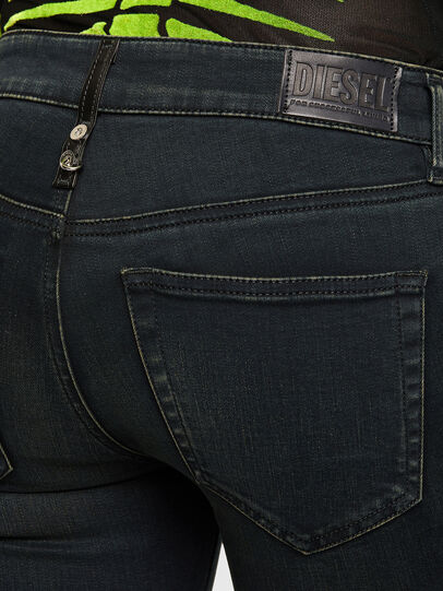Diesel - Slandy 009QG, Blu Scuro - Jeans - Image 4