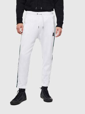 P-YEGOX, Bianco/Verde - Pantaloni