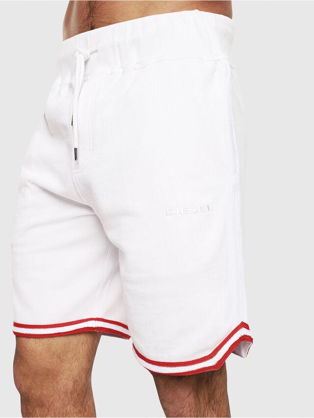 Diesel - UMLB-PAN, Bianco/Rosso - Pantaloni - Image 3