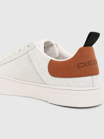 Diesel - S-CLEVER LOW LACE, Bianco/Marrone - Sneakers - Image 4