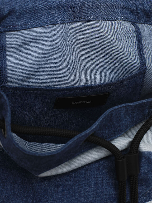 Diesel - VOLPAGO BACK, Blu Jeans - Zaini - Image 4