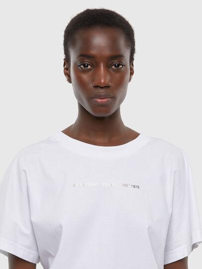 Diesel - T-SLOWLY, Bianco - T-Shirts - Image 3