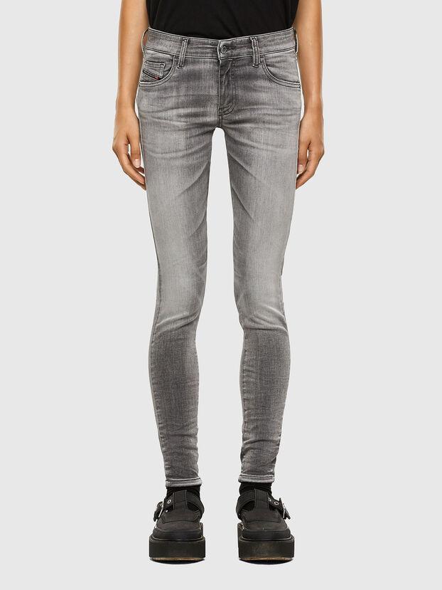Slandy Low 009FD, Grigio Chiaro - Jeans