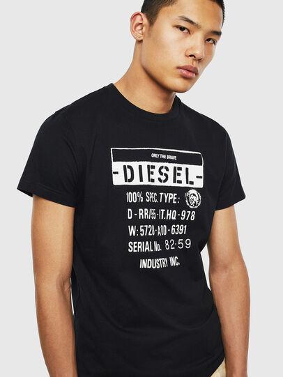 Diesel - T-DIEGO-S1, Nero - T-Shirts - Image 3