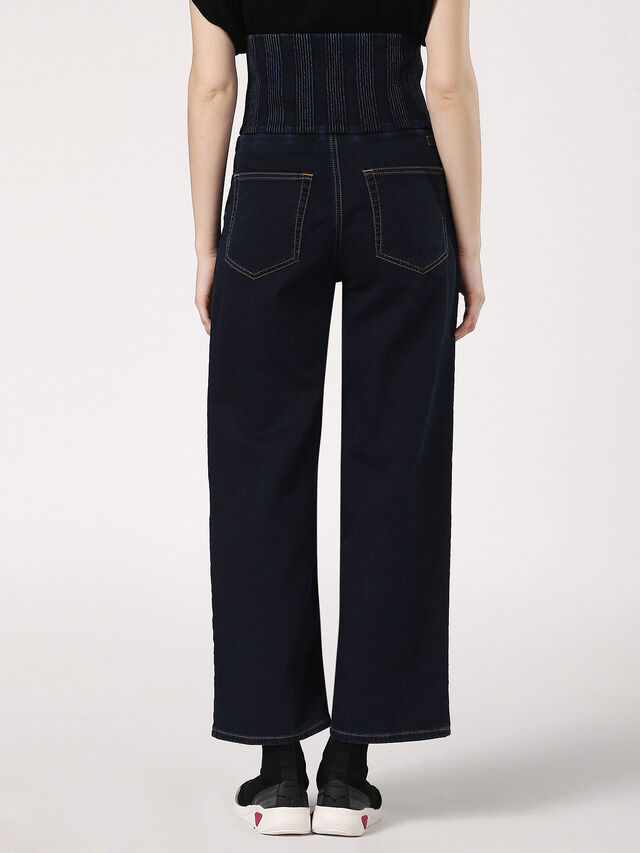PHYL JOGGJEANS 0689Y, Nero Jeans