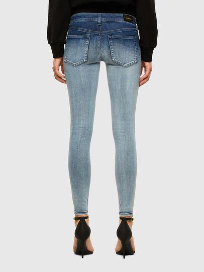 Diesel - Slandy Low 009CV, Blu Chiaro - Jeans - Image 2