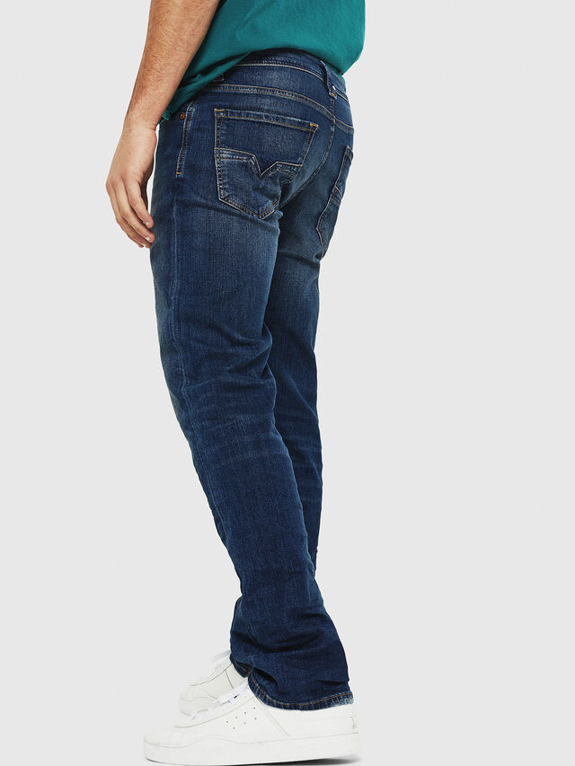 Diesel - Larkee 087AW, Blu Scuro - Jeans - Image 2