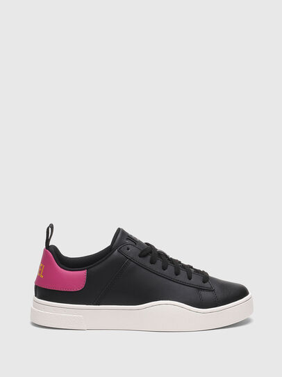 Diesel - S-CLEVER LOW LACE W, Nero/Rosa - Sneakers - Image 1