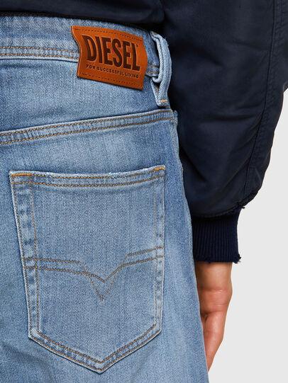Diesel - Larkee 009NF, Blu Chiaro - Jeans - Image 4