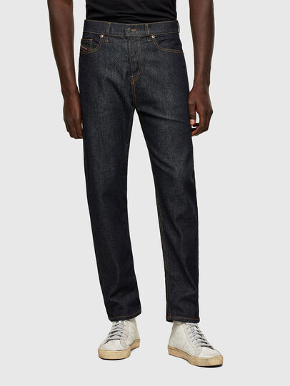 Diesel - D-Vider 009HF, Blu Scuro - Jeans - Image 1
