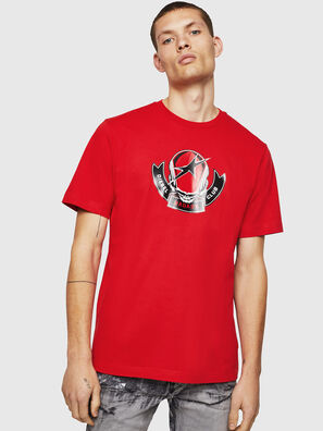 T-JUST-B1, Rosso Fuoco - T-Shirts