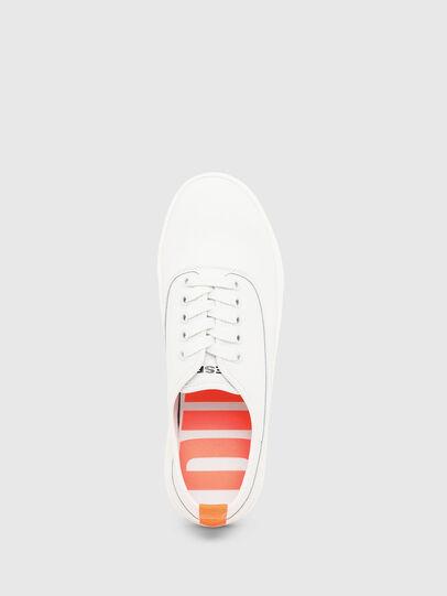 Diesel - S-VANEELA LOW, Bianco/Arancione - Sneakers - Image 5